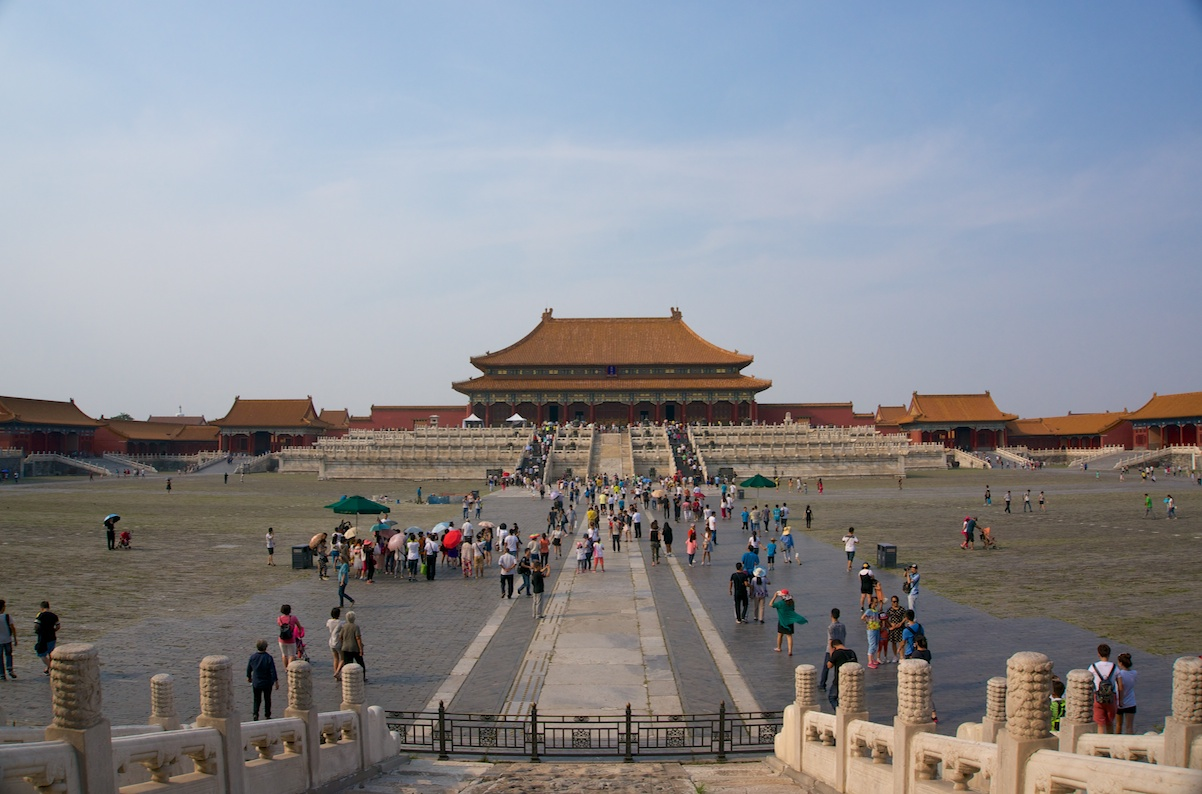Inside the forbidden city