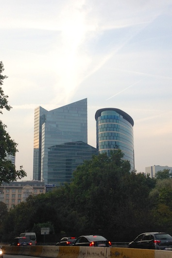 ERC Headquarters (the oval building)